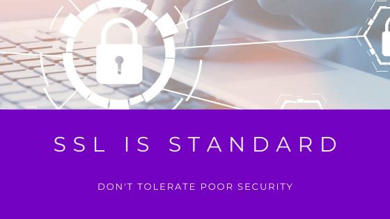 ssl is standard