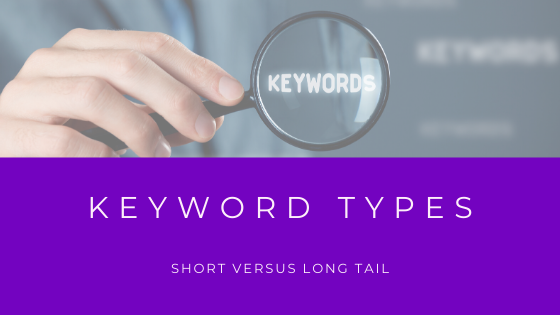 types of keywords
